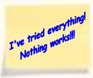 Negative thoughts Ive tried everything Birmingham NLP Hypnotherapy