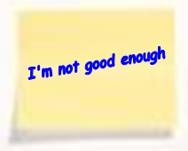 I'm not good enough negative thought help stop them with hypnosis Birmingham