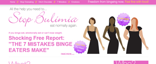 curing bulimia treatment in Birmingham with hypnosis and NLP help to stop