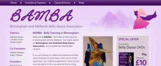 Belly dance Association Birmingham 50 classes to choose from